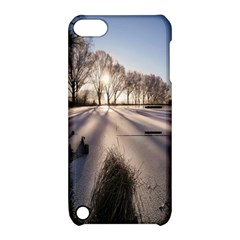 Winter Lake Cold Wintry Frozen Apple Ipod Touch 5 Hardshell Case With Stand by Celenk