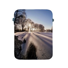 Winter Lake Cold Wintry Frozen Apple Ipad 2/3/4 Protective Soft Cases by Celenk
