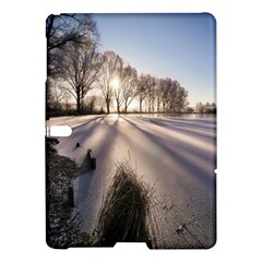 Winter Lake Cold Wintry Frozen Samsung Galaxy Tab S (10 5 ) Hardshell Case  by Celenk