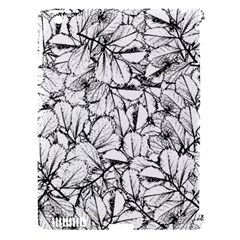 White Leaves Apple Ipad 3/4 Hardshell Case (compatible With Smart Cover) by SimplyColor