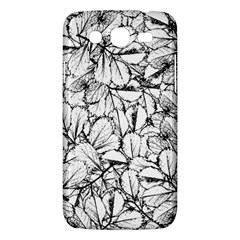White Leaves Samsung Galaxy Mega 5 8 I9152 Hardshell Case  by SimplyColor
