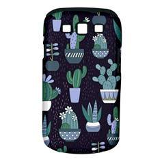 Cactus Pattern Samsung Galaxy S Iii Classic Hardshell Case (pc+silicone) by AllThingsEveryone