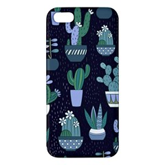 Cactus Pattern Apple Iphone 5 Premium Hardshell Case by allthingseveryone