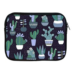 Cactus Pattern Apple Ipad 2/3/4 Zipper Cases by AllThingsEveryone