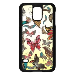 Colorful Butterflies Samsung Galaxy S5 Case (black) by AllThingsEveryone