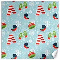 Winter Fun Pattern Canvas 20  X 20