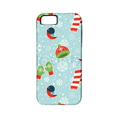 Winter Fun Pattern Apple Iphone 5 Classic Hardshell Case (pc+silicone) by AllThingsEveryone