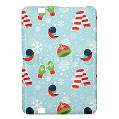 Winter Fun Pattern Kindle Fire Hd 8 9  by AllThingsEveryone