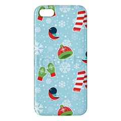 Winter Fun Pattern Apple Iphone 5 Premium Hardshell Case by allthingseveryone