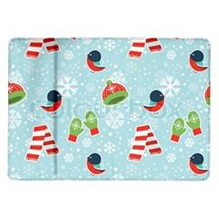 Winter Fun Pattern Samsung Galaxy Tab 10 1  P7500 Flip Case by AllThingsEveryone