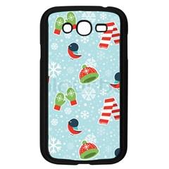 Winter Fun Pattern Samsung Galaxy Grand Duos I9082 Case (black) by allthingseveryone