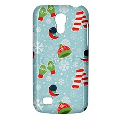 Winter Fun Pattern Galaxy S4 Mini by AllThingsEveryone