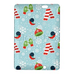 Winter Fun Pattern Kindle Fire Hdx 8 9  Hardshell Case by AllThingsEveryone