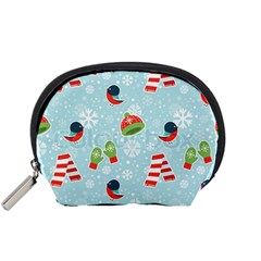 Winter Fun Pattern Accessory Pouches (small)  by AllThingsEveryone