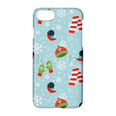 Winter Fun Pattern Apple Iphone 8 Hardshell Case by AllThingsEveryone