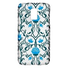 Art Nouveau, Art Deco, Floral,vintage,blue,green,white,beautiful,elegant,chic,modern,trendy,belle ¨ poque Galaxy S5 Mini by 8fugoso