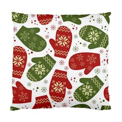 Winter Snow Mittens Standard Cushion Case (two Sides) by AllThingsEveryone