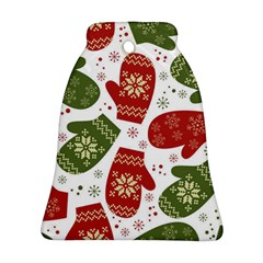 Winter Snow Mittens Ornament (bell) by AllThingsEveryone