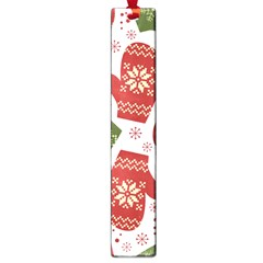Winter Snow Mittens Large Book Marks by AllThingsEveryone