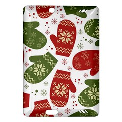 Winter Snow Mittens Amazon Kindle Fire Hd (2013) Hardshell Case by AllThingsEveryone