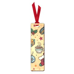 Cute Vintage Christmas Pattern Small Book Marks by AllThingsEveryone