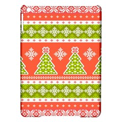 Christmas Tree Ugly Sweater Pattern Ipad Air Hardshell Cases by allthingseveryone