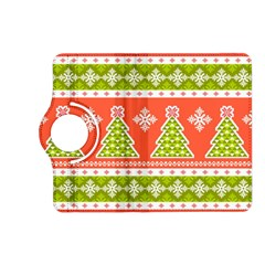 Christmas Tree Ugly Sweater Pattern Kindle Fire Hd (2013) Flip 360 Case by AllThingsEveryone