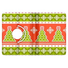 Christmas Tree Ugly Sweater Pattern Kindle Fire Hdx Flip 360 Case by AllThingsEveryone