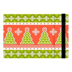 Christmas Tree Ugly Sweater Pattern Apple Ipad Pro 10 5   Flip Case by AllThingsEveryone