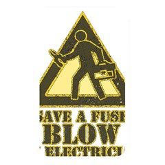 Save A Fuse Blow An Electrician Memory Card Reader by FunnyShirtsAndStuff