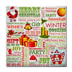 The Joys Of Christmas Tile Coasters by allthingseveryone