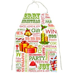 The Joys Of Christmas Full Print Aprons by allthingseveryone