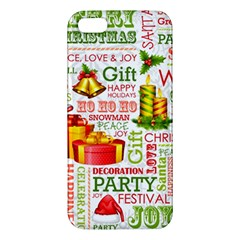 The Joys Of Christmas Apple Iphone 5 Premium Hardshell Case by AllThingsEveryone
