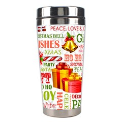 The Joys Of Christmas Stainless Steel Travel Tumblers by AllThingsEveryone