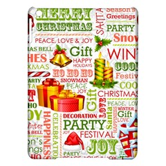 The Joys Of Christmas Ipad Air Hardshell Cases by allthingseveryone