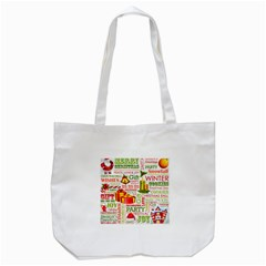 The Joys Of Christmas Tote Bag (white)