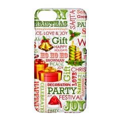 The Joys Of Christmas Apple Iphone 7 Hardshell Case by AllThingsEveryone