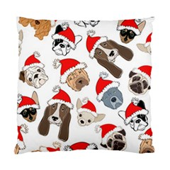 Christmas Puppies Standard Cushion Case (two Sides) by AllThingsEveryone