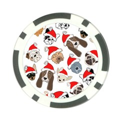 Christmas Puppies Poker Chip Card Guard (10 Pack) by AllThingsEveryone