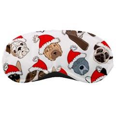 Christmas Puppies Sleeping Masks by allthingseveryone