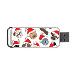 Christmas Puppies Portable Usb Flash (one Side) by AllThingsEveryone