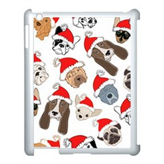 Christmas Puppies Apple Ipad 3/4 Case (white) by AllThingsEveryone