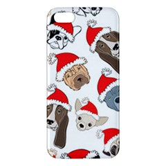 Christmas Puppies Apple Iphone 5 Premium Hardshell Case by AllThingsEveryone