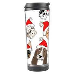 Christmas Puppies Travel Tumbler by AllThingsEveryone