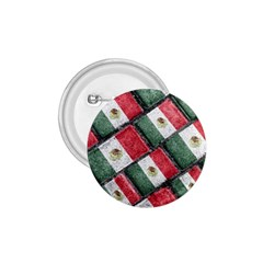Mexican Flag Pattern Design 1 75  Buttons by dflcprints