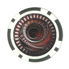 The Thousand And One Rings Of The Fractal Circus Poker Chip Card Guard
