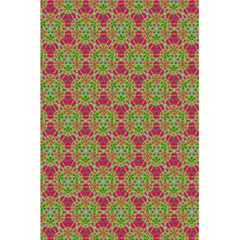 Red Green Flower Of Life Drawing Pattern 5 5  X 8 5  Notebooks by Cveti