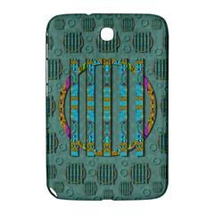 Freedom Is Every Where Just Love It Pop Art Samsung Galaxy Note 8 0 N5100 Hardshell Case  by pepitasart