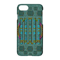 Freedom Is Every Where Just Love It Pop Art Apple Iphone 8 Hardshell Case by pepitasart