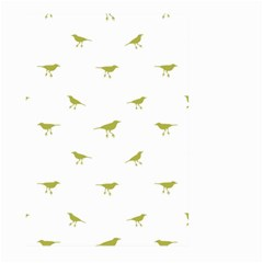 Birds Motif Pattern Large Garden Flag (two Sides) by dflcprints